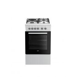 Beko FSS53000DW four et cuisinière Combi Blanc A