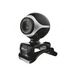 Trust Webcam EXISnoir et argent