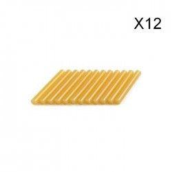 DREMEL 12 bâtons colle spéciale bois 11mm 195°C