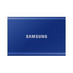 Disque SSD Externe Samsung Portable T7 500 Go USB 3.2 Bleu indigo