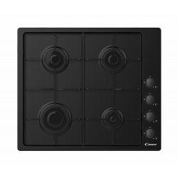 Candy CHW6LBB Noir Intégré (placement) 60 cm Gaz 4 zone(s)