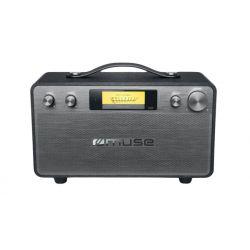 Muse M-670 BT Radio portable Noir, Acier
