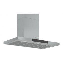 Bosch Serie 6 DWB98JQ50 hotte Monté au mur Acier inoxydable 843 m³/h A+