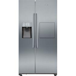 Siemens iQ500 KA93GAIEP frigo américain Autoportante 560 L E Acier inoxydable