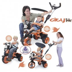 INJUSA Tricycle City Orange