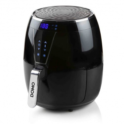 Domo DO532FR friteuse Unique 4 L Autonome Friteuse d'air chaud Noir