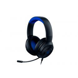 Casque Gaming PS4 Razer Kraken X Noir et Bleu