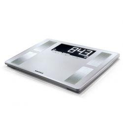Soehnle Shape Sense Profi 200 Rectangle Argent Pèse-personne électronique