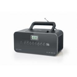 Muse M-28 DG Lecteur de CD Lecteur CD portable Noir