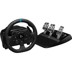 Pack Gaming Volant et Pédales Logitech G923 Trueforce pour PS4 / PS5 / PC