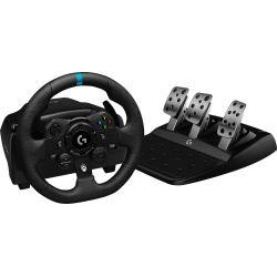 Logitech G G923 Noir USB Volant + pédales PC, Xbox 360