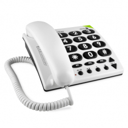 Doro PhoneEasy 311c Téléphone analogique Blanc