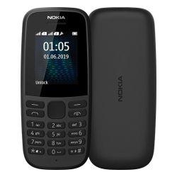 Téléphone mobile Nokia 105 Double SIM Noir