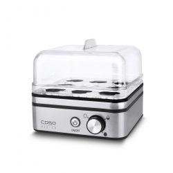 Caso E9 cuiseur à œufs 8 œufs 400 W Acier inoxydable, Transparent