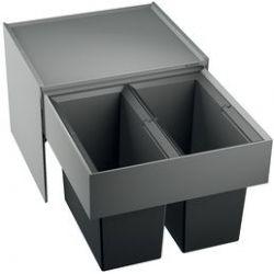 BLANCO SELECT 50/2 tiroir de rangement cuisine Noir