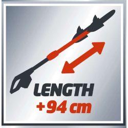 Taille-haies télescopique sans fil Einhell GE-HH 18 Li T