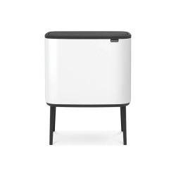 Brabantia 313509 poubelle 36 L Rectangulaire Plastique Blanc