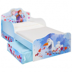 Worlds Apart 509FZO Lit pour enfant Multicolore Panneaux MDF Lit fantaisie
