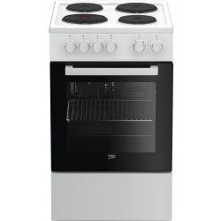 Beko FSS56000GWC four et cuisinière Plaque scellée Blanc A