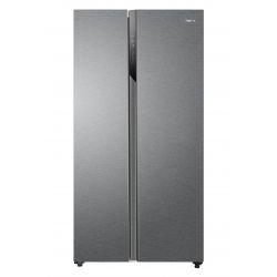 Haier HSR3918ENPG frigo américain Autoportante 528 L E Argent