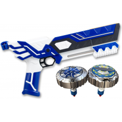 Blaster double shoot Silverlit Spinner Mad avec 2 toupies