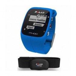 POLAR Montre Connectée Cardiofréquencemetre Gps M400 HR avec Ceinture