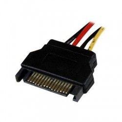 StarTech.com Câble adaptateur d'alimentation interne SATA vers Molex 4 broches de 30 cm - Convertisseur SATA vers LP4 - F/M