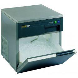 Whirlpool AGB 022 machine à glaçons 24 kg/24h 210 W Acier inoxydable