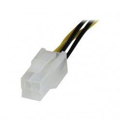 StarTech.com Câble d'extension d'alimentation P4 a 4 broches 20 cm pour processeur ATX12V - Rallonge d'alimentation pour CPU - M