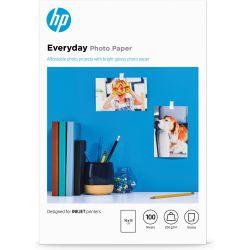 Papier photo imprimante HP Everyday - Brillant