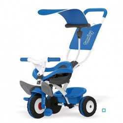 SMOBY Tricycle Baby Balade Bleu