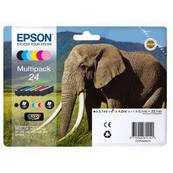 Pack de Cartouche d'encre Epson Elephant 6 couleurs