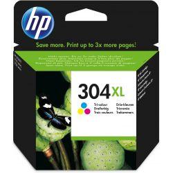 Cartouche d'encre HP pack 304 couleurs xl