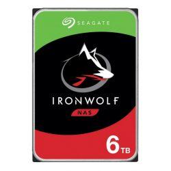 Disque dur interne Seagate IronWolf ST6000VNA01 6 To Argent