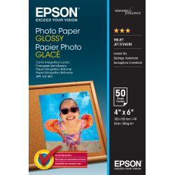 Papier d'impression Epson Papier Photo Glacé 200 g 10X15