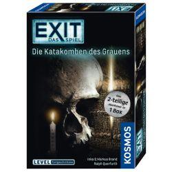 Jeu d'ambiance Iello Exit Catacombes de l'effroi