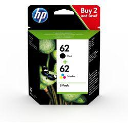 Cartouche d'encre HP pack 62 4 couleurs