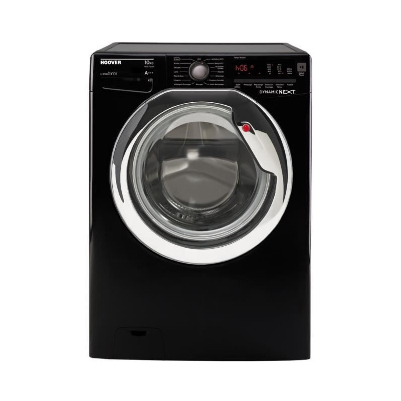 hoover dxc410hb lave linge frontal 10 kg 1400 tours. Black Bedroom Furniture Sets. Home Design Ideas
