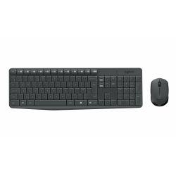 Logitech MK235 clavier RF sans fil QWERTZ Suisse Noir