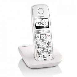Gigaset E310 Téléphones Sans fil Confort Ecran Blanc Senior