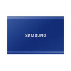 Disque SSD Externe Samsung Portable T7 1 To USB 3.2 Bleu indigo