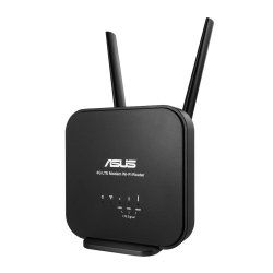 Modem-routeur sans fil Wireless-N300 LTE Asus 4G-N12 B1 Noir