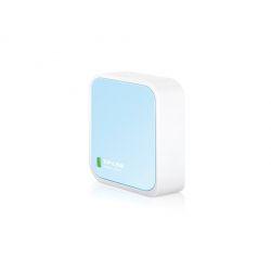 TP-LINK TL-WR802N routeur sans fil Fast Ethernet Monobande (2,4 GHz) Bleu, Blanc