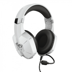 Micro casque Gaming filaire Trust GXT 323W Carus Blanc