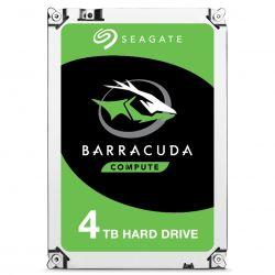 Disque Dur Interne Seagate BarraCuda ST4000DM004 4 To Argent