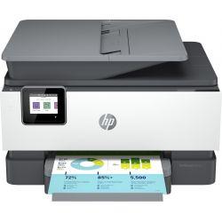 Imprimante Tout-en-un HP OfficeJet Pro 9012e Blanc et gris