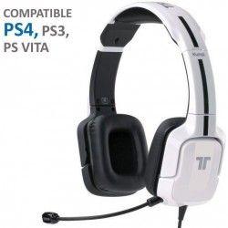 Casque Gaming Tritton Kunai Blanc PS Vita-PS3-PS4