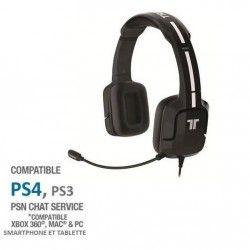 Casque Gaming Tritton Kunai Noir PS Vita-PS3-PS4