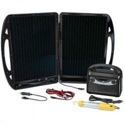 BRENNENSTUHL Kit solaire 13W 12V/7Ah bâton fluo 36 LED 12V