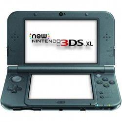 New 3DS XL Noire Métallique